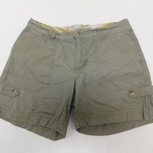 Columbia 4 Brown Cargo Shorts Mini Cotton